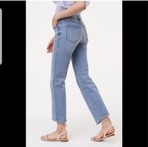 Loft Straight Cropped Jeans (Size 10/30)